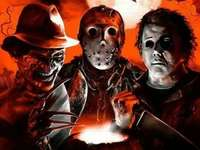 Halloween Horror - Freddy Krueger, Jason Voorhees und Michael Myers
