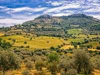 Paisaje en Sicilia