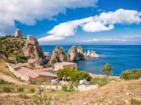 Coast at Zingaro Sicily