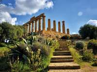Agrigento Templomok völgye Szicília