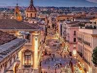 Miasto Katania na Sycylii - Miasto Katania na Sycylii