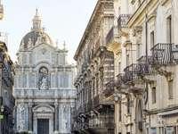 Cidade de Catania na Sicília - Cidade de Catania na Sicília