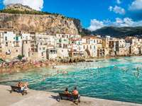 Cefalu coastal city in Sicily - Cefalu coastal city in Sicily