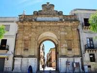 Město Marsala Porta Nuova na Sicílii