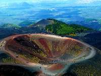 Vulkan Aetna Krater auf Sizilien - Vulkan Aetna Krater auf Sizilien
