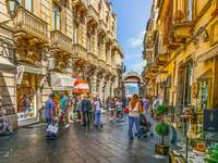Taormina Stadt auf Sizilien - Taormina Stadt auf Sizilien