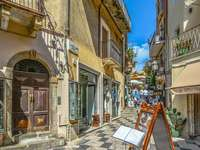 Cidade de Taormina na Sicília
