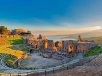 Starověká města Taormina na Sicílii - Starověká města Taormina na Sicílii