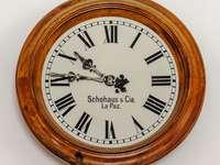 Zegar w Muzeum Casa de la Moneda