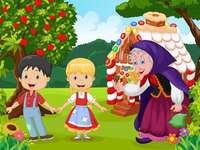 Hansel si Gretel - Realizat pentru elevii classe 1