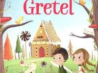 Puzzle Hansel și Gretel - Realizat pentru elevii classe 1