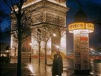 Триумф на дъгата - Това е снимка на Париж от 1960 г.