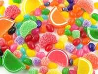 Multicolore - Mangia caramelle multicolori