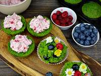 muffins σπανάκι - Μ ...................