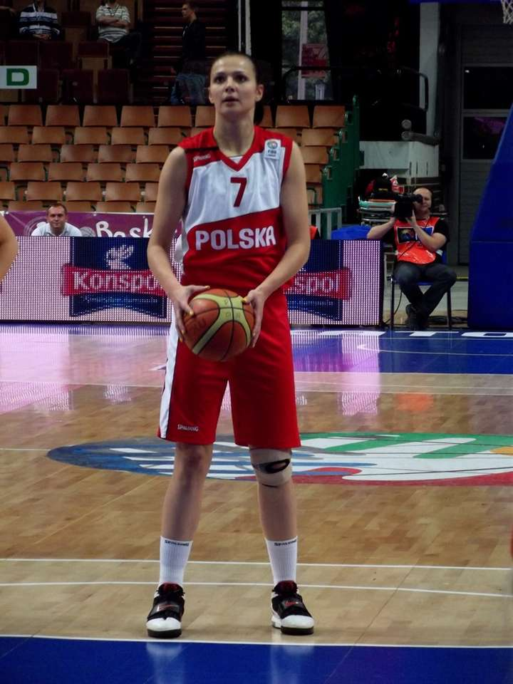 Agnieszka Szott-Hejmej - Agnieszka Szott-Hejmej (born March 23, 1982 in Gorzów Wielkopolski) - Polish basketball player playing on the winger position. The champion and representative of Poland, the champion of Switzerland, (4×6)
