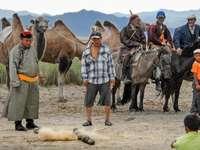 в Монголия - м ...................