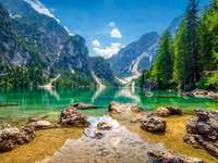 lake in the mountains - m ........................