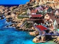 Vesnice Popeye na Maltě - Vesnice Popeye na Maltě