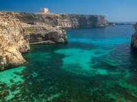 Крайбрежни скални скали Малта - Крайбрежни скални скали Малта