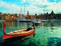 Dghajsa Vittoriosa Marina Malta - Dghajsa Vittoriosa Marina Malta