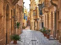 Valetská alej na Maltě - Valetská alej na Maltě
