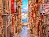 Vicolo di La Valletta a Malta