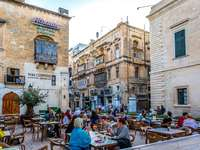 Valetta Piazza Ristorante auf Malta - Valetta Piazza Ristorante auf Malta
