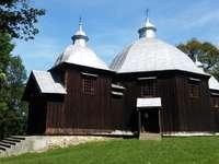 Ortodox kyrka i Bieszczady - längs vägen till kyrkorna i Podkarpacie