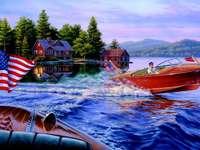 λίμνη στη Σκανδιναβία - Μ ..........................