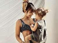 Η Άννα Λιουάντοβσκα με την κόρη της - Μ ..........................