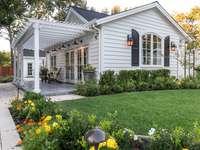 kleines Haus im amerikanischen Stil