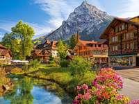 Εξοχικά σπίτια δίπλα στον ποταμό στα βουνά - Εξοχικά σπίτια δίπλα στον ποταμό στα βουνά