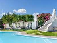 Porto Rotondo luxusvilla Szardínián