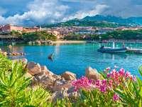 Město Olbia na Sardinii