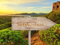 Sardinien Costa Smeralda Vacker ö - Sardinien Costa Smeralda Vacker ö