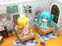 Miku y su novia