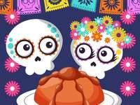 """Денят на мъртвите - Съберете пъзела с тема """"Ден на мъртвите"""""""