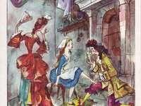 Märchen über Aschenputtel - Illustration von Jan Szancer für ein Märchen