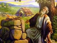Biblischer Charakter 2 - Setze das Puzzle zusammen und entdecke den Charakter.