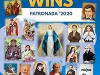 Záštita 2020 - 2020 sponzorství pro děti plakát