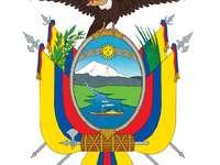 Ec national shield - National coat of arms of the republic of Ecuador