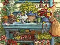 γωνία λουλουδιών - Μ .............................