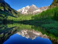 Colorado State, the Maroon Bells