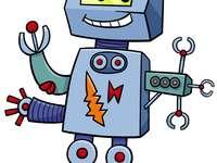 Robot puzzel - Robot puzzel