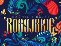 sprookjesboekomslag - omslag van een boek met Russische sprookjes
