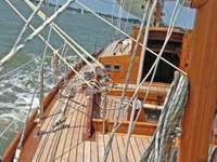 velier clasic - navigarea mediteraneană în vânt