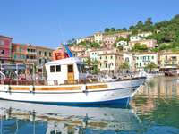 Porto Azzurro på Elba Italien - Porto Azzurro på Elba Italien