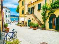 Marina Di Campo on Elba Italy