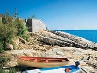 Elba-sziget a toszkán partoknál - Elba-sziget a toszkán partoknál