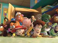 Toy Story - Ein Puzzle mit Toy Story.